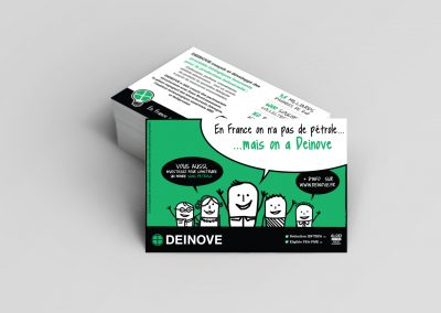 Graphic design – Deinove