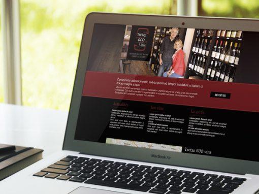 Webdesign – Restaurant / Bar à vin