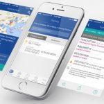 Webdesign d'application mobile CMA-CGM