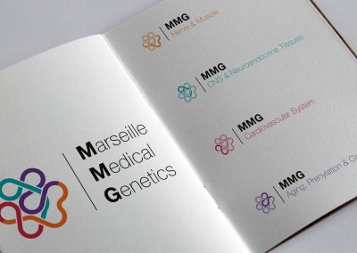 Identité visuelle – Marseille Medical Genetics