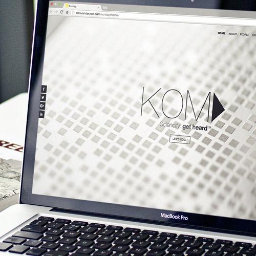 Webddesign – the Kom Agency