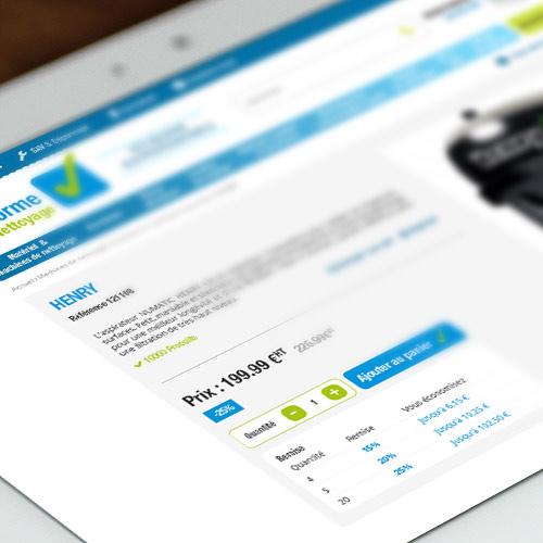 Webdesign – site e-commerce Prestashop