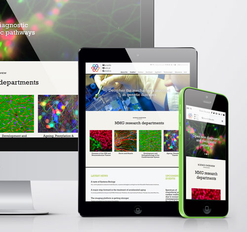 Webdesign – Marseille Medical Genetics