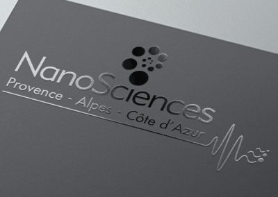 creating logo for Cnano PACA