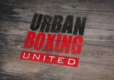 creating logo for Urban Boxing event