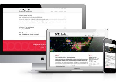 Creating landing page for umrs910