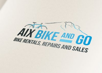 logo for bike rental