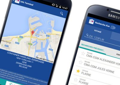 UI Design Web app for CMA-CGM