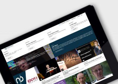 Webdesign responsive website novadiscovery.com