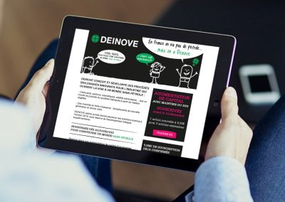 Emailing for Deinove