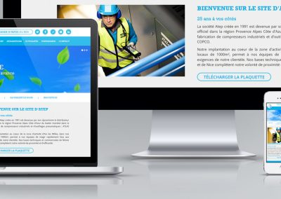 Webdesign responsive website