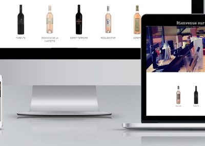 Winery house webdesign